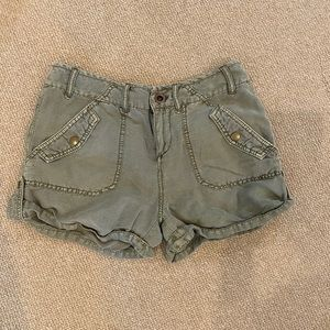 Free people shorts size 2